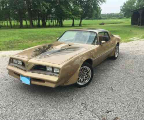 Pontiac Trans Am Gold Edition Y88 (1978)