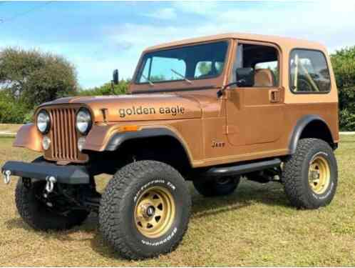 Jeep CJ Golden Eagle (1979)