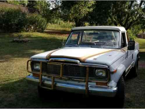 Jeep Truck Golden Eagle (1979)