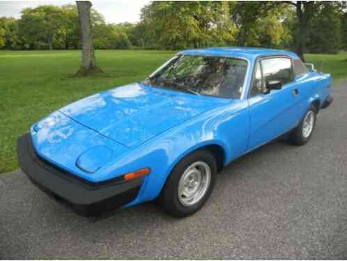 Triumph TR7 13, 425 Miles One-Owner (1979)