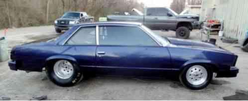 Chevrolet Malibu DRAG TUBE CHASSIS BIG TIRE CAR 1980, 1981 ...