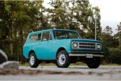 International Harvester Scout 4X4 (1980)