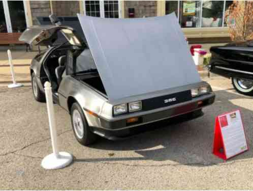 1981 DeLorean Coupe Light gray stock