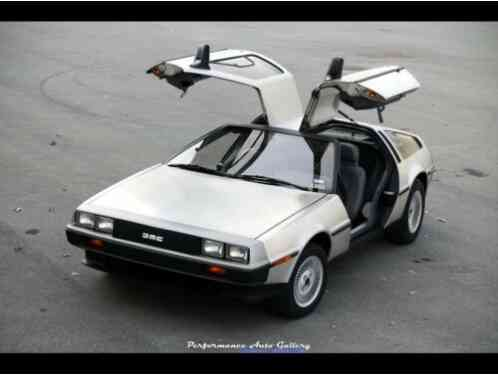 1981 DeLorean DMC-12 5-Speed | 6k miles, All original!