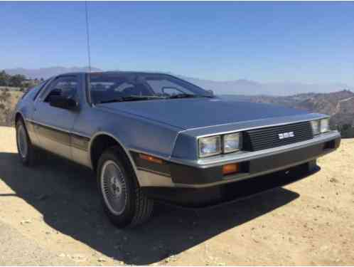 DeLorean DMC-12 Optional dealer (1981)