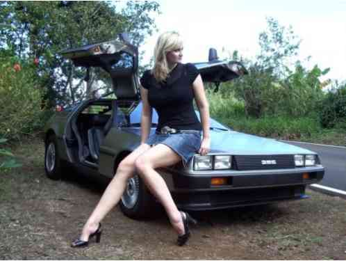 DeLorean dmc12 (1981)