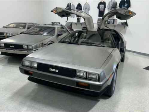 1981 DeLorean Late 81 Gray 5-Speed 13K Miles