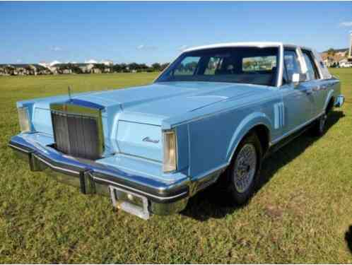 Lincoln Mark Series Continental VI (1982)