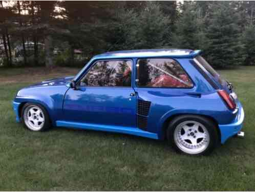 Renault 5 alpine turbo (1982)