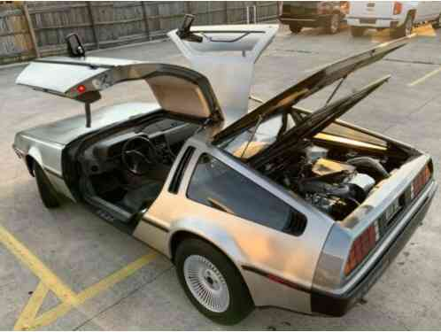 1983 DeLorean DMC 12 DMC 12