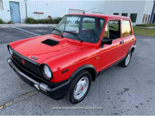 1985 Fiat Other Abarth A112 RARE! SEE VIDEO!