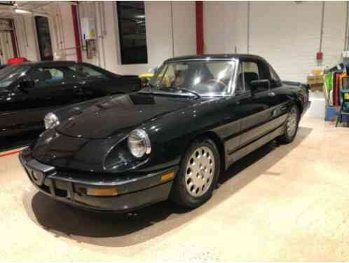 Alfa Romeo Spider Convertible with (1987)