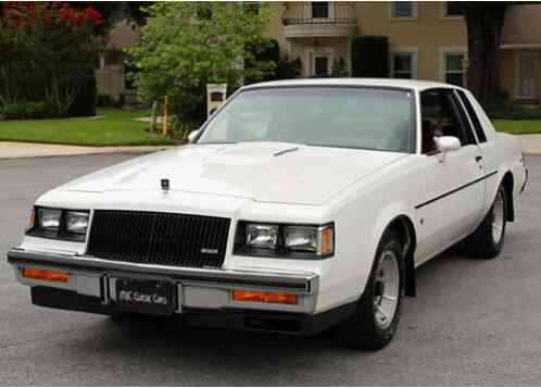 Buick Regal TURBO T COUPE - MINT (1987)