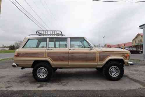 1990 Jeep Wagoneer Final Edition Grand Wagoneer