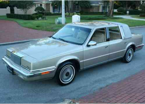 1991 Chrysler New Yorker FIFTH AVENUE - ONE OWNER - 46K M