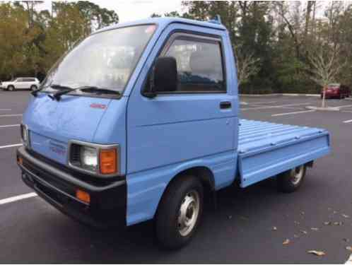 Daihatsu Other 1991 Road Legal Hijet Toyota 4x4 4 Speed Hi