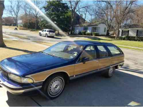 1992 Buick Roadmaster Estate Wagon Wagon 4-Door