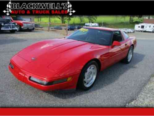 Chevrolet Corvette 2dr Coupe (1992)