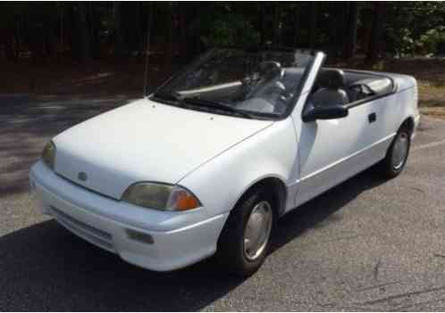 Geo Metro Lsi 1992 White Convertible If You Are Looking For A Great