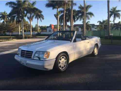 mercedes benz e class convertible 1994 mercedes benz e320 only 105k saleofcar com