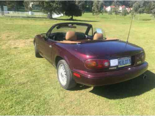 1995 Mazda MIATA M-5 METALLIC PURPLE