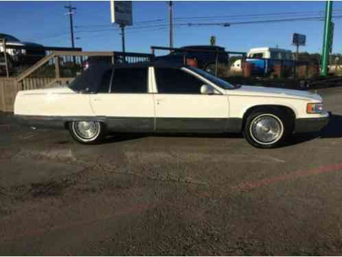 1996 Cadillac Fleetwood Brougham sedan fleetwood