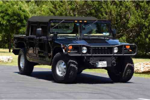 Hummer H1 Heavy duty brush guard (1998)