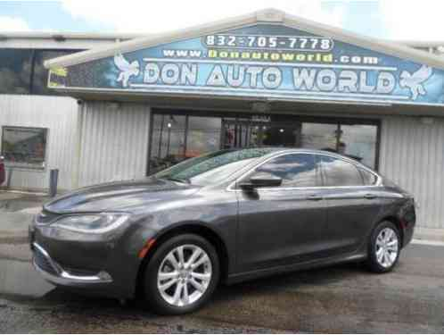 2016 Chrysler 200 Series Limited 4dr Sedan