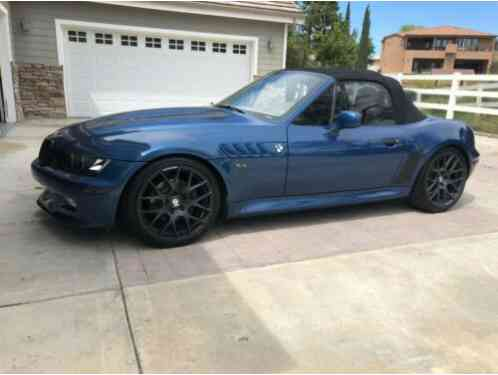 BMW Z3 2. 8L - RARE ATLANTIC BLUE (2000)