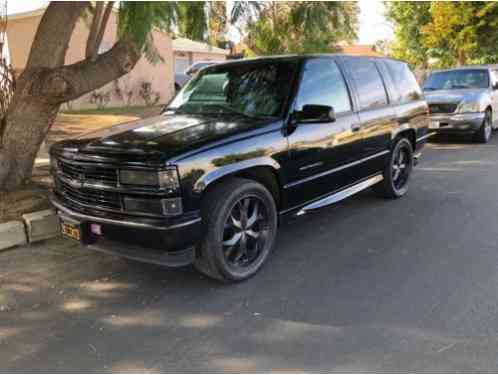 Chevrolet Tahoe Limited (2000)