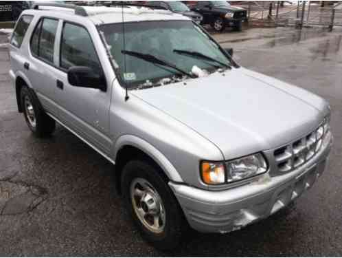 2000 Isuzu Rodeo LOW MILES NO RESERVE