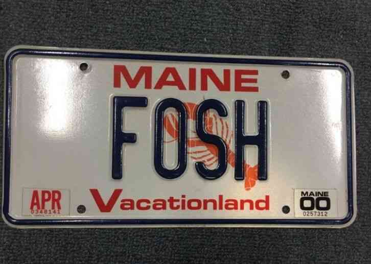 Custom Personalized Metal License Plate Your Name Your State Choose from All 50 States