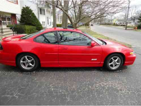Pontiac Grand Prix GTP Coupe 2-Door 2000, Clear Title in hand, No