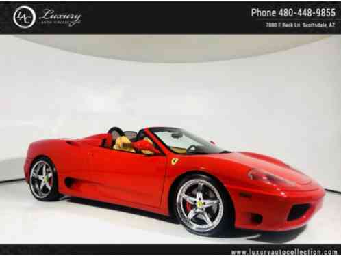 Ferrari 360 Spider | Fresh Major | (2001)