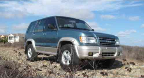 2002 Isuzu Trooper 5 speed MANUAL TRANSMISSION