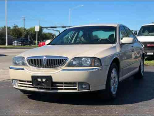 2003 Lincoln LS Base 4dr Sedan V6