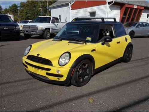 Mini Cooper Hatchback 2D (2003)