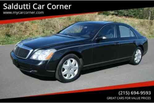 Maybach 57 Base 4dr Turbo Sedan (2004)