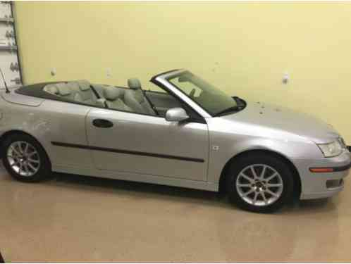 2004 Saab 9-3 2. 0T AUTOMATIC CONVERTIBLE