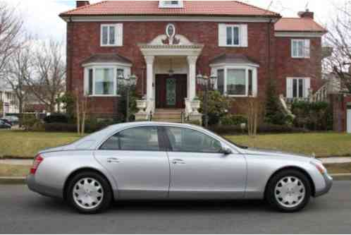 Maybach 57 Base 4dr Turbo Sedan (2005)