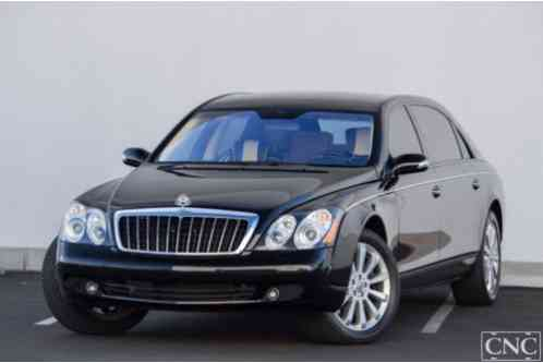 2008 Maybach 62S S Sedan 4-Door