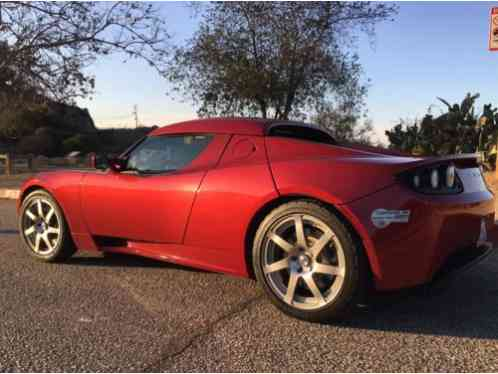 2008 Tesla Roadster Base Convertible 2 Door With Both Hard And Soft Top