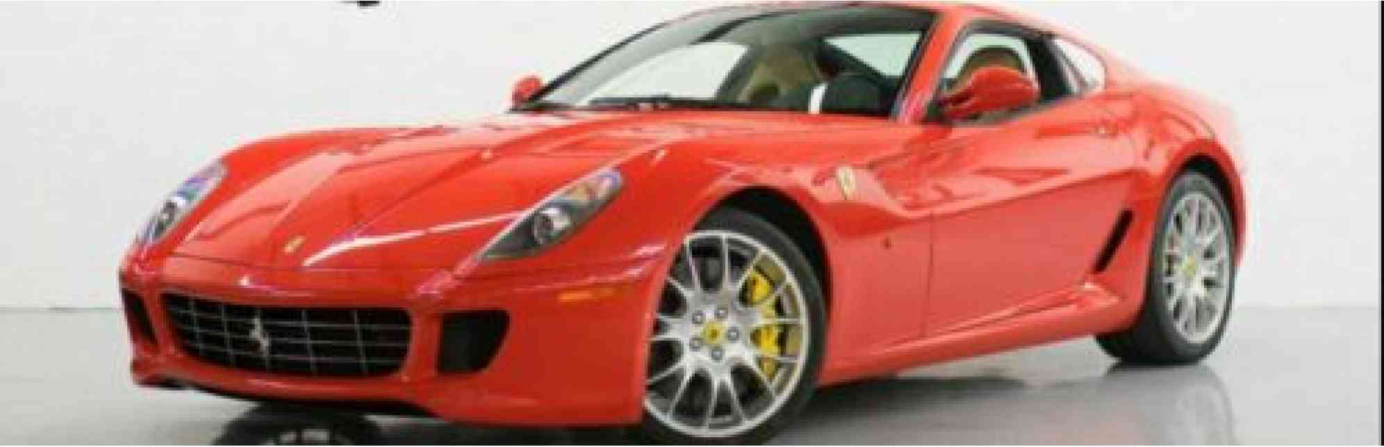 2009 Ferrari 599 2 Door Coupe