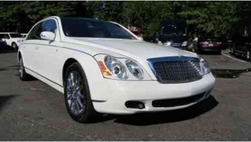2009 Maybach 62 White