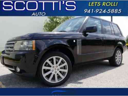 2010 Land Rover Range Rover SC CLEAN CARFAX! SUPERCHARGED!