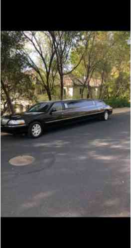 "2010 Lincoln Town Car Krystal Coach 120"" 5th door Limo"