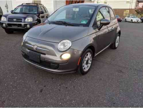 Fiat 500 Pop Hatchback 2D (2012)