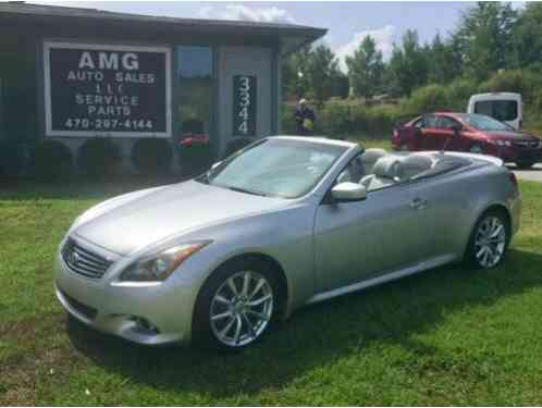 2012 Infiniti G37 Base 2dr Convertible