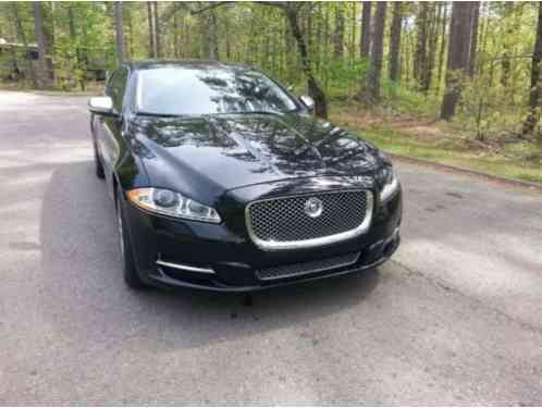 2012 Jaguar XJ Leather