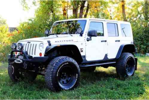 Jeep Wrangler For Sale Austin >> Jeep Wrangler Unlimited Altitude Sport Utility 4-Door 2012 ...
